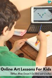 online art lessons for kids for when mom doesn u0027t do arts and