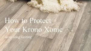 Protecting Laminate Flooring How To Protect Krono Xonic Floor Youtube
