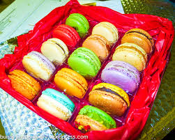 online ordered french macarons from macaron cafe new york