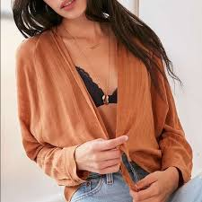 open blouse 15 outfitters tops bdg tie front open blouse