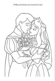 sleeping beauty coloring pages singing princess aurora prince