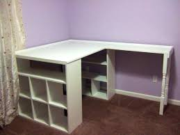 Desk Top Organizer Hutch by Slanted Ceiling Storage L Shaped White Wooden Corner Desk With