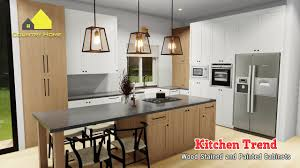 wood stained kitchen cabinets kitchen trend ideas wood stained and painted cabinets