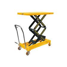 Pallet Lift Table by 800kg Double Scissor Lift Table L Midland Pallet Trucks