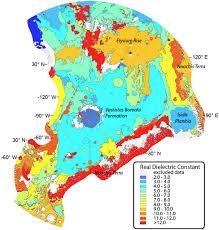 Northern Hemisphere Map Esa Science U0026 Technology Mars Express Marsis Map Of Martian