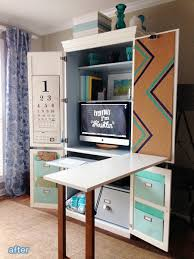 Armoire Office Desk Office Desk Armoire Crafts Home