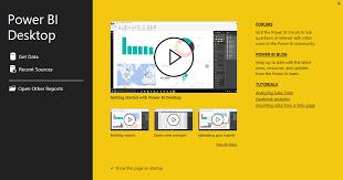 Desk Top Design Getting Started With Power Bi Desktop Power Bi Microsoft Docs