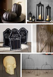 Halloween Front Door Decor Frightful U0026 Friendly Halloween Front Door Décor Pottery Barn