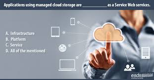 applications using managed cloud storage are as a service