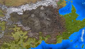 Blank Fantasy World Map by Greyhawk