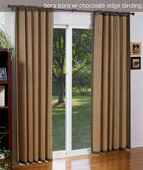 Blinds For Patio by Bamboo Draperies Drapes For Patio Doors Blinds Chalet