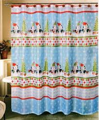 Snowflake Curtains Christmas Top 40 Beautiful Designs Of Christmas Bathroom Curtains