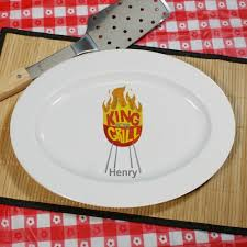 personalized serving trays platters bbq serving platter personalized bbq serving platter