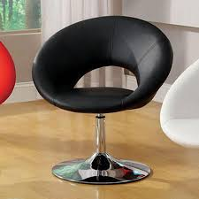 impressions vanity co u2022 modern round swivel vanity chair