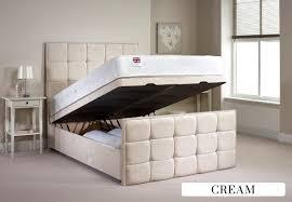 4ft Ottoman Beds Uk Aspire Furniture Aston 4ft 6 Fabric Ottoman Bed