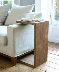 adjustable couch table tray extraordinary under couch table new tray for cool slide sofa medium