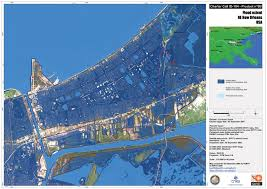New Orleans Flood Zone Map by Charter Call 103 104 Usa