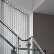 Blinds For Angled Windows - contemporary light control luxaflex vertical blinds