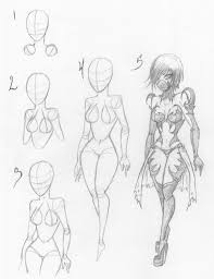 anime female drawing how to draw a female body online drawing