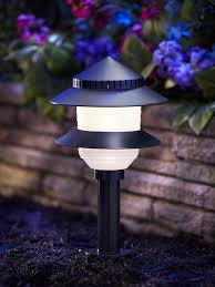 In Lite Landscape Lighting by Moonrays 95534 10 Fixture Low Voltage Plastic Lighting Kit Black