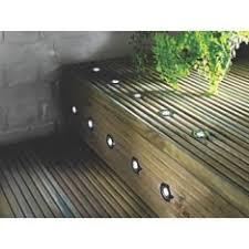 Recessed Deck Lighting Apollo White Led Recessed Deck Lighting Kit Reduced By 40 At