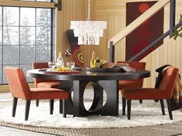 modern round dining room table luxury wood round dining tables set