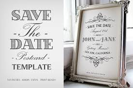 Save The Dates Postcards Save The Date Postcard Template V 1 Invitation Templates