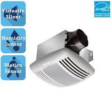 Motion Sensor Bathroom Light Delta Breez Greenbuilder Series 80 Cfm Ceiling Bathroom Exhaust