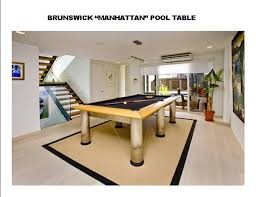brunswick 3 piece slate pool table second hand pool tables barton mcgill pools tables
