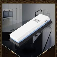 Sharpening Stone Kitchen Knives Taidea Kitchen Knife Sharpening Stone 120 400 Grit Combination