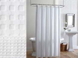 Cotton Waffle Shower Curtain White Waffle Shower Curtain Cotton Curtain Gallery Images
