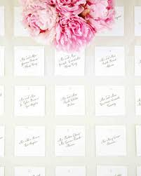 how to make table seating cards classic seating cards and displays martha stewart weddings