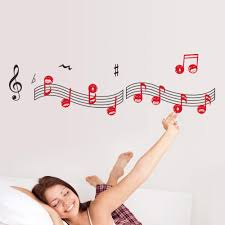happy facial music notes wall decals vinyl art removable wall happy facial music notes wall decals vinyl art removable wall sticker arts wallpaper children bedroom decor mirror wall stickers modern wall decal from