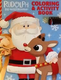 amazon original rudolph red nosed reindeer coloring