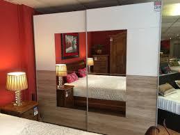 rauch durham oak sliding wardrobe mattress shop newcastle bed