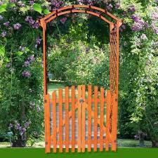 di legno per giardino arco con cancello in legno da esterno per a bari kijiji