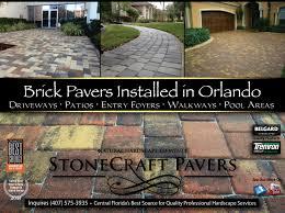 Patio Pavers Orlando Brick Pavers Orlando Installing Brick Pavers In Orlando Orlando