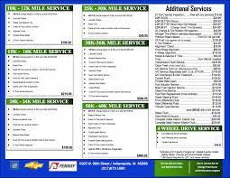 lexus service indianapolis service menu bill estes chevy indianapolis in