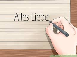 how to end a letter in german 10 steps with pictures wikihow