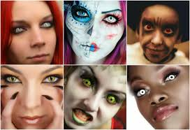 colored contacts prescription halloween box for cards at wedding