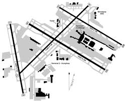 Map Of Boston Logan Airport by Minneapolis St Paul International Wold Chamberlain Airport Map