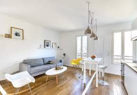 Small Flat A Small Apartment Renovation In Paris By Richard Guilbault