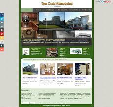 home remodeling website design website design u0026 development including updating