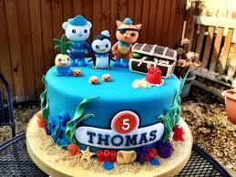 octonauts birthday cake octonauts birthday cake cake by cakesdecor