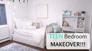 Teen Bedroom Makeover - cute teen bedroom makeover reveal youtube