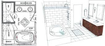bathroom floor plans design small ideas as well designs shower