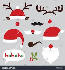 christmas clipart photo booth pencil and in color christmas