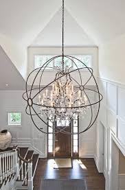 wrought iron foyer light chandelier amusing large chandeliers for foyer astounding large