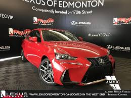 red lexus 2018 new 2018 lexus is f sport series 2 4 door car in edmonton l14078