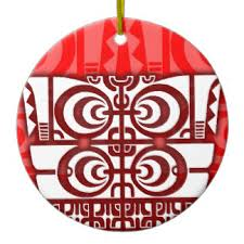 tribal tattoo designs ornaments u0026 keepsake ornaments zazzle